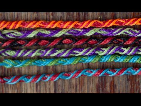 Tutorial Pulsera De Los Deseos Pulsera Hippie Pulsera Colombiana