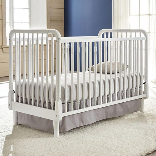 Eco Chic Baby Kennedy Classic 3 In 1 Convertible Crib Pure White Eco Chic Baby Babies R Us Cribs Convertible Crib Best Crib