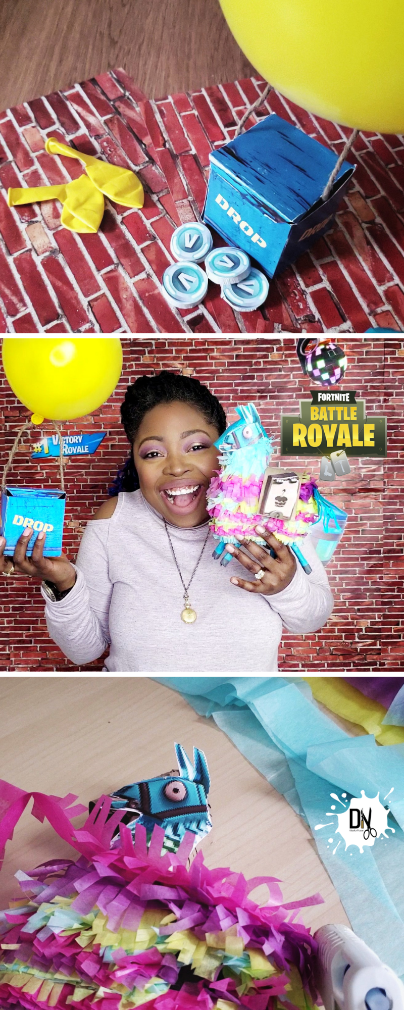A Fortnite Birthday Party Needs Three Things Try These Fortnite Birthday Party Diy Birthday Party Printables Free Party Printables Free Birthday Party Snacks