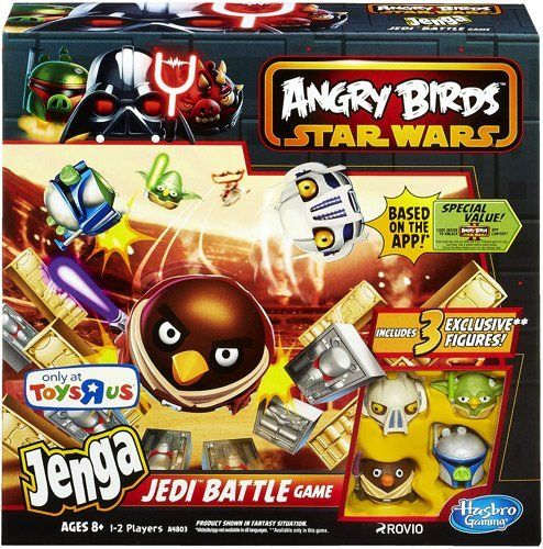 Angry Birds Star Wars Jenga Jedi Battle Game 653569913306 Launch