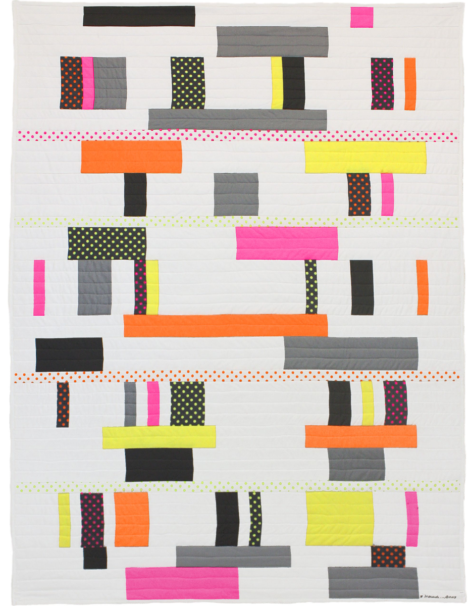 NEON GRAY - FREE QUILT PATTERNS - GET INSPIRED