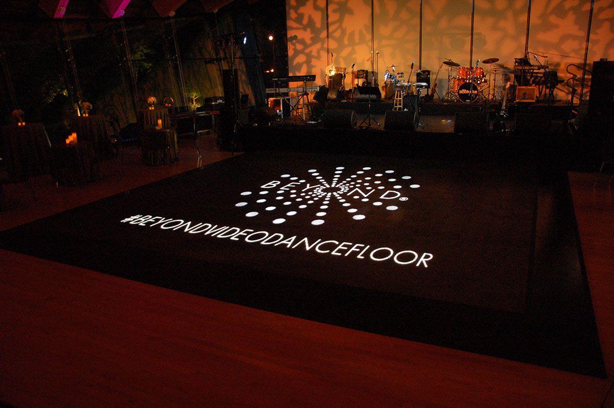 Video Dance Floor | Beyond | Lighting, Videography, DJ, and AV for Weddings and Events