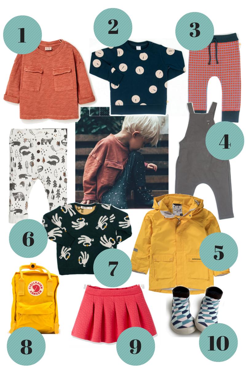 niedriger Preis anders populäres Design Herbst 2016 Farben für Kindermode - Shopping Tipps ...