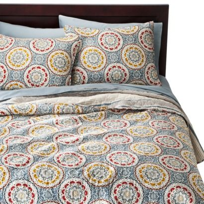 Threshold Medallion Reversible Quilt | Nanny Room | Pinterest ... : target quilt - Adamdwight.com