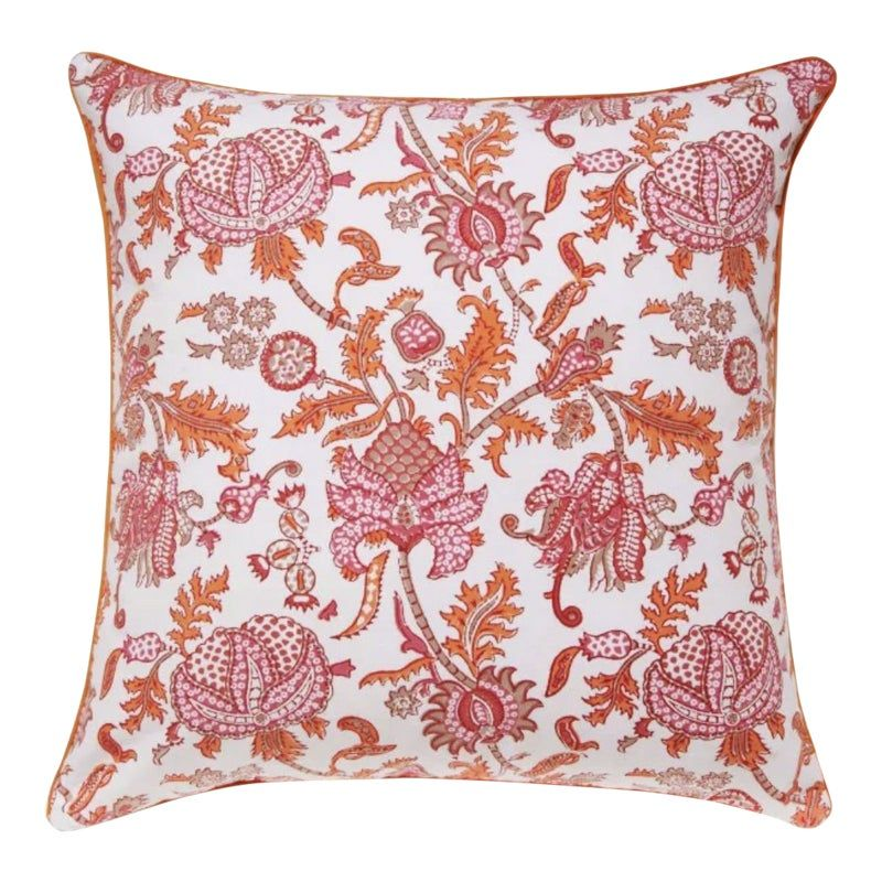 Chinese Decorative Red Throw Pillow