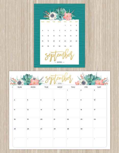 Ftd Free Downloadable Calendar  Printable Calendars Calendar And