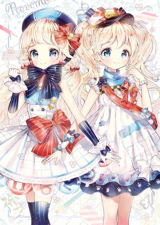 Vài ảnh cũ mik đăng lại hoy >3<   Anime, Manga anime, Song sinh
