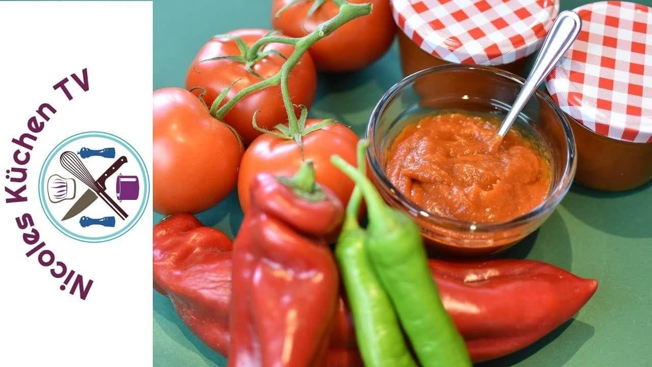Ketchup im Thermomix - Rezept von Nicoles Küchen Tv   Dips & Saucen ...