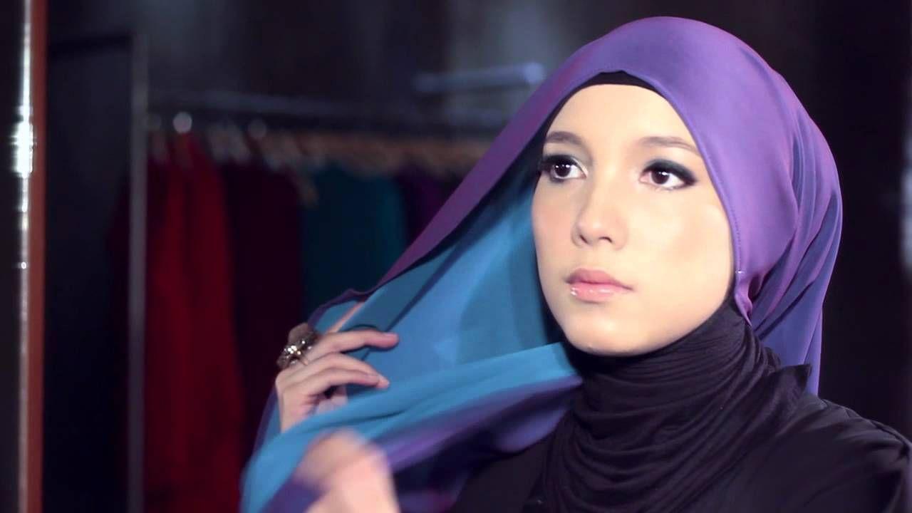 JENAHARA TWO TONE SHAWL TUTORIAL 2 Hijab Tuts Pinterest