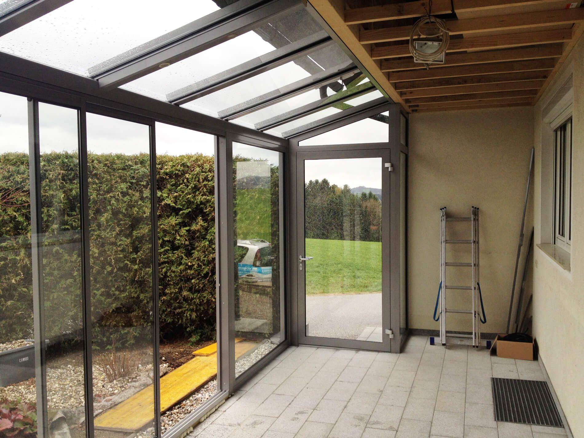 wintergarten unterhalb balkon wintergarten. Black Bedroom Furniture Sets. Home Design Ideas