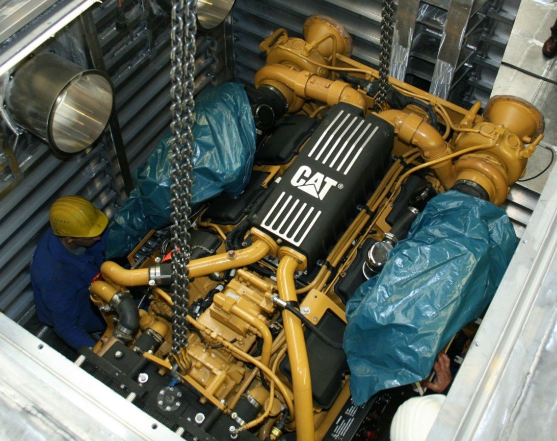 Some Common Caterpillar Marine Engine Problems and Their Solutions