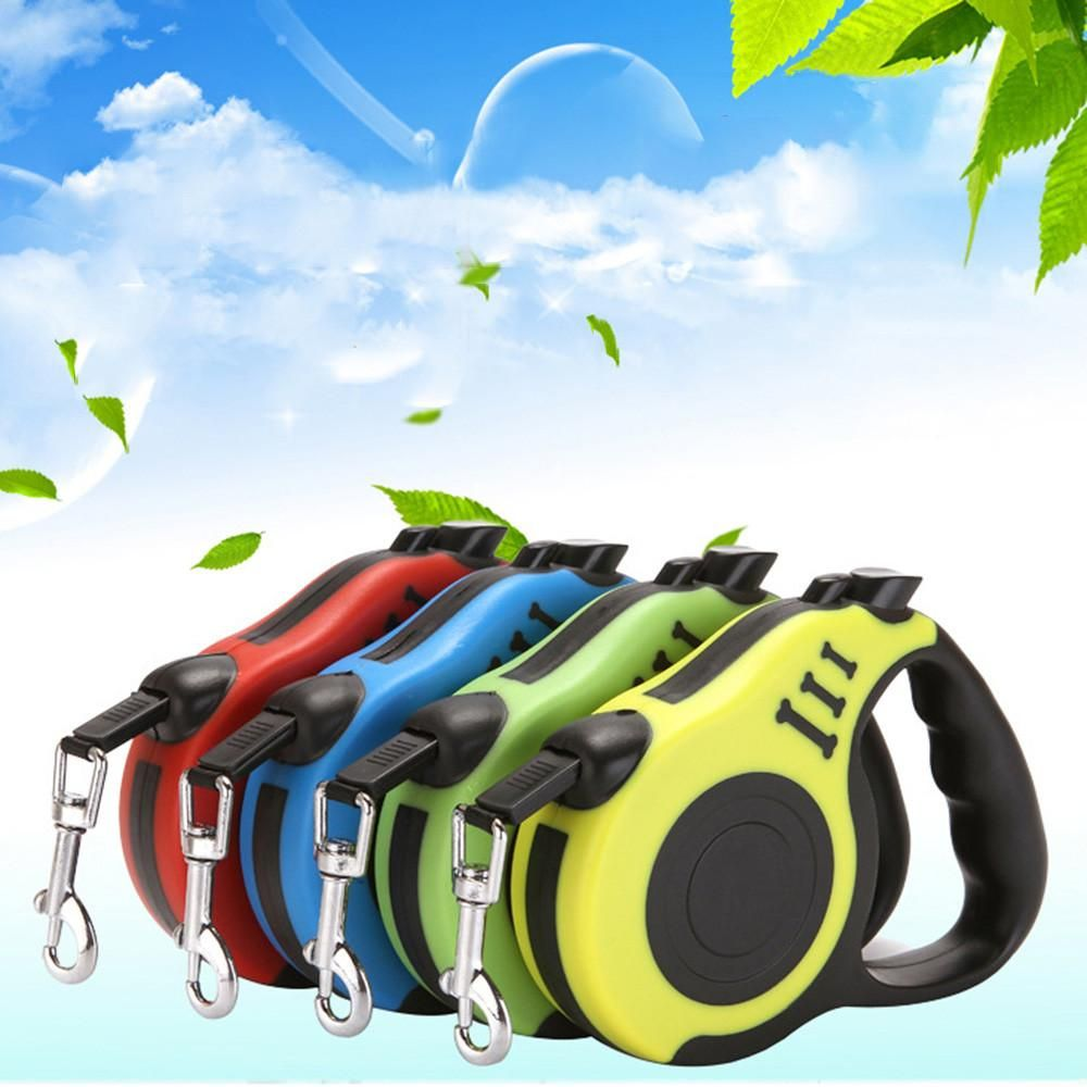 3M//5M Automatic Retractable Pet Dog Cat Puppy Traction Rope Walking Lead Leash