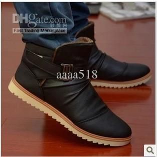 Men's Winter Cotton Boots High Snow Boots