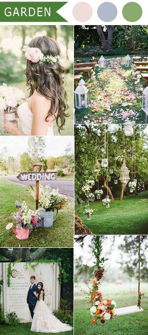 Palete verdes jardim/ Casamento