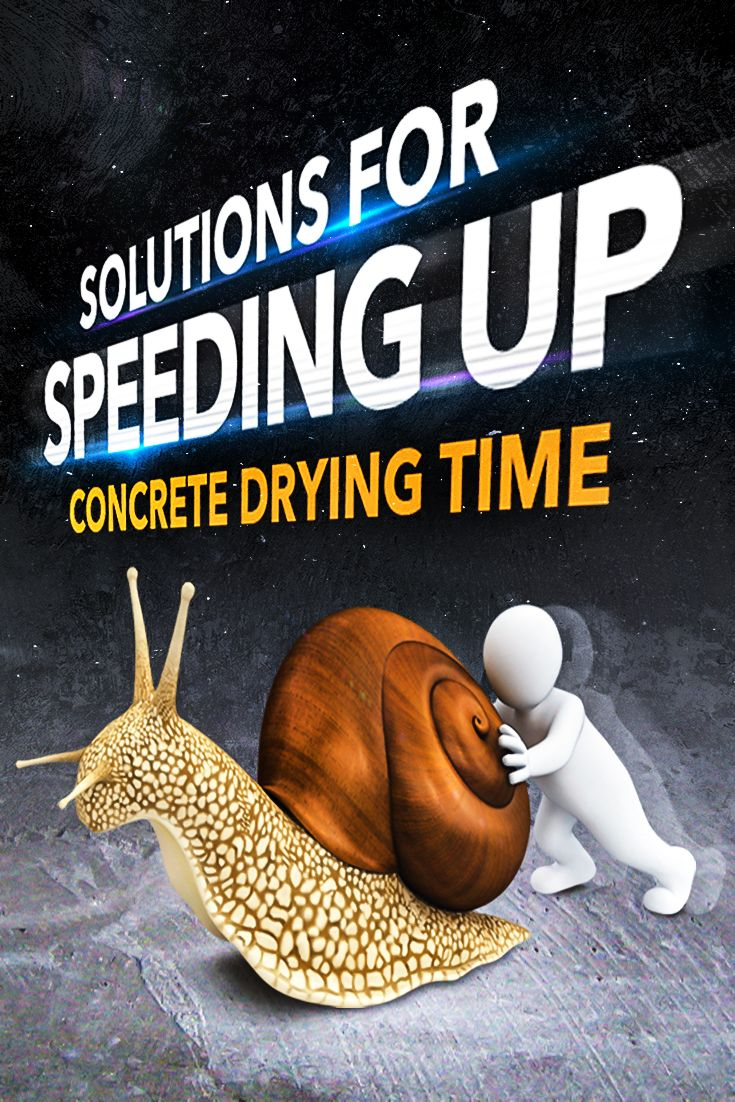 How To Rapidly Speed Up Concrete Drying Time Concrete Speed Up Moisture Meters