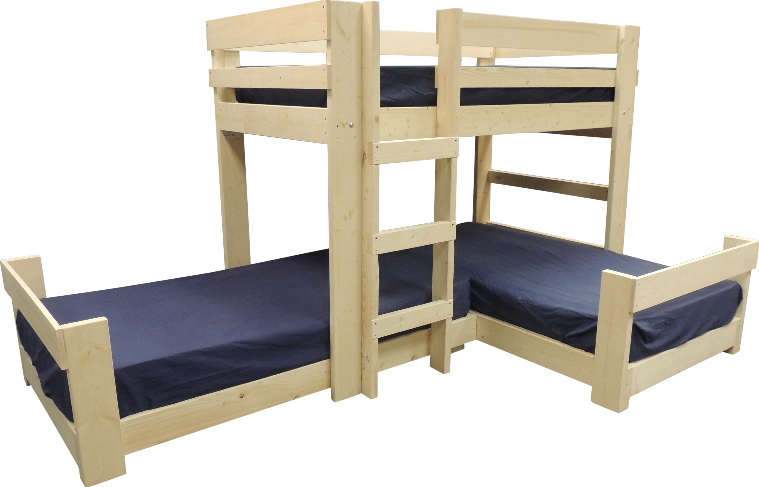 Pin On Triple Beds For A Small Space Low bunk beds for low ceilings