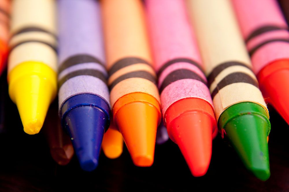 A fatter crayon autistic children network for good crayon