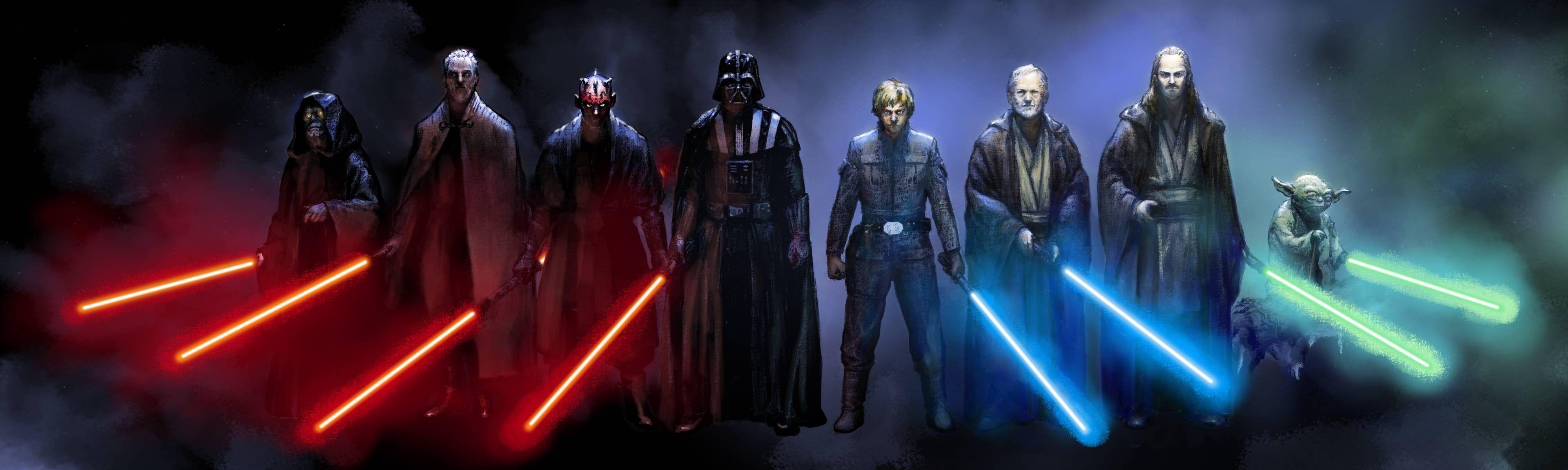 Triple Monitor Star Wars Wallpaper WallpaperSafari