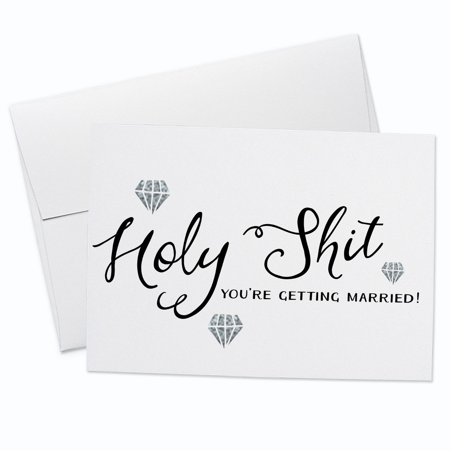 Youre Getting Married Greeting Card In 2018 Stationery Fox