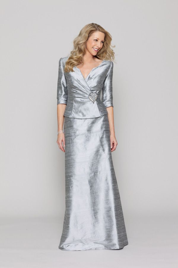 Tinsel Dupioni Silk 2 Piece Suit This Is A Perfect Wedding Dress