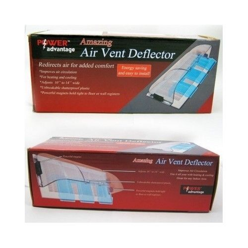 Amazing Plastic Air Vent Deflector Improves Heating And Cooling Direct Air Flow Air Vent Heating Cooling Air Filter