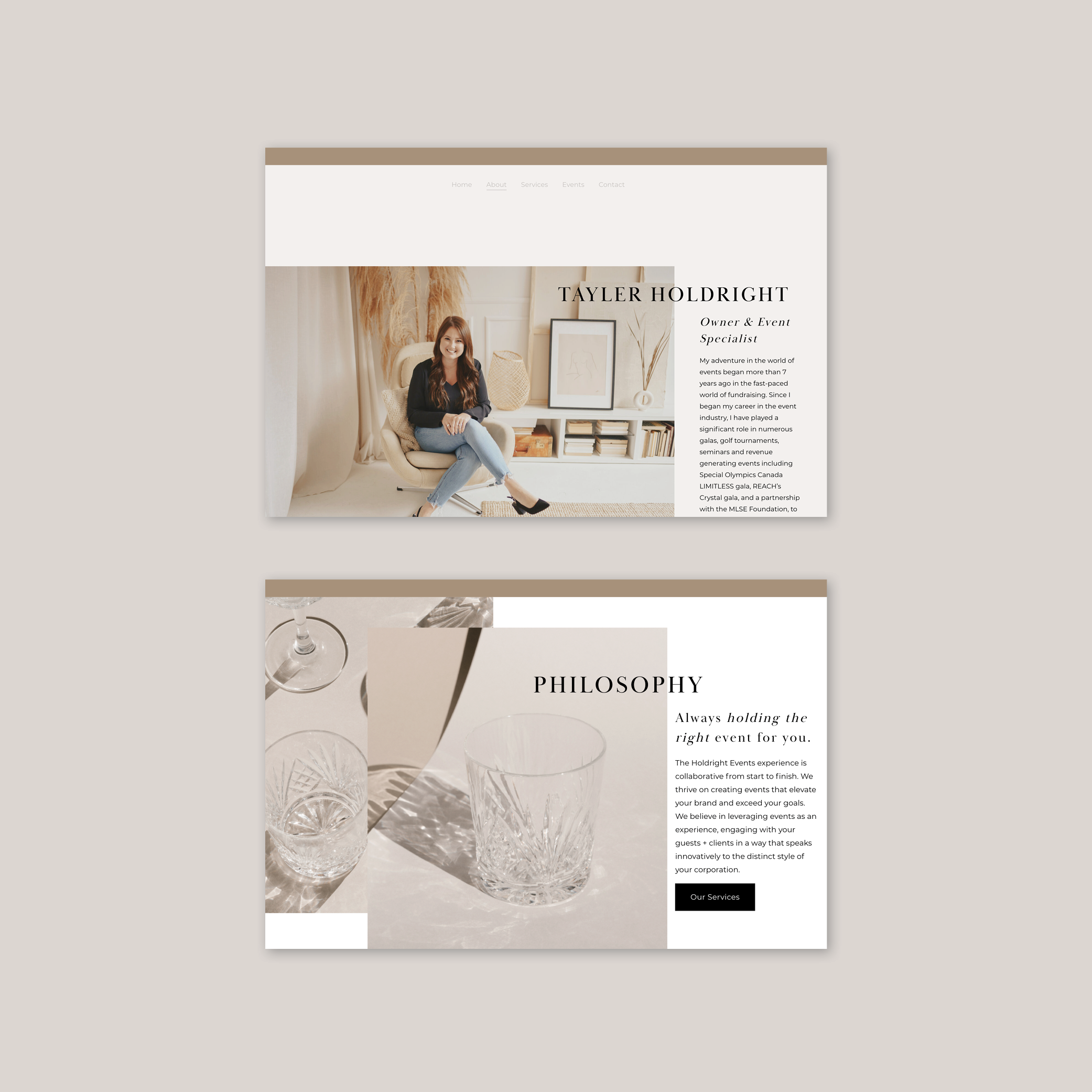 Web Design For Event Planners In 2020 Web Design Web Design Projects Event Planning Website