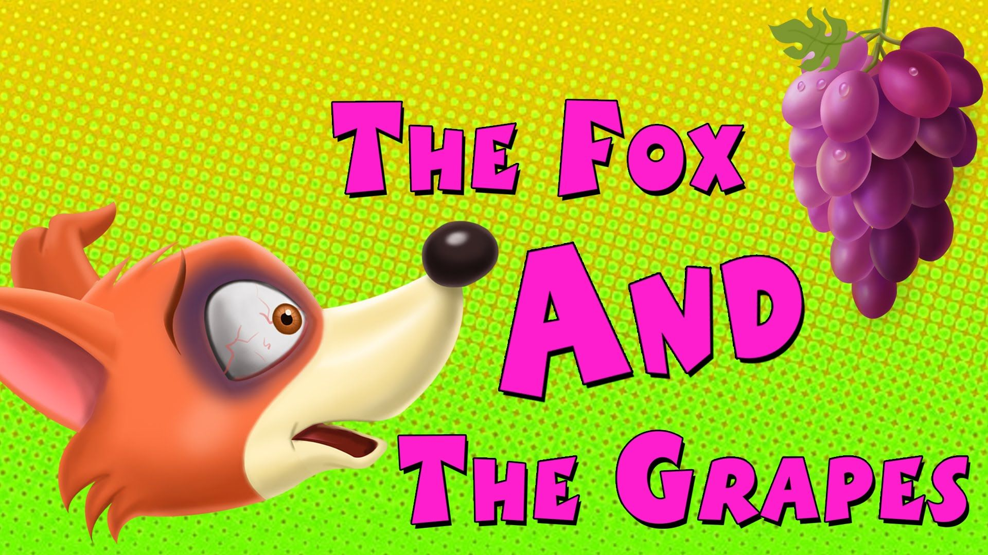 fox and grapes story in english
