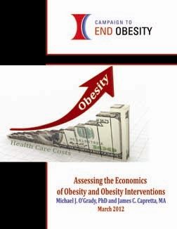 """Today, the Campaign to End Obesity expressed concerns over new findings in a report by Cornell University researchers. According to the report, """"The Medical Care Costs of Obesity,"""" it is now believed that the total cost of health care associated with U.S. obesity is $190.2 billion a year, or 20.6 percent of total U.S. health spending – twice as much as previously reported."""