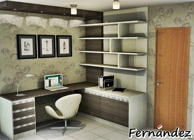 Conhecido FERNANDEZ MÓVEIS PLANEJADOS: Home Office para Residencial Acácias  QN57