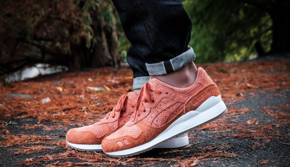 detailed look b074a 39999 ASICS GEL LYTE III 'HAIRY SUEDE' SPICE ROUTE SNEAKERS IN ALL ...