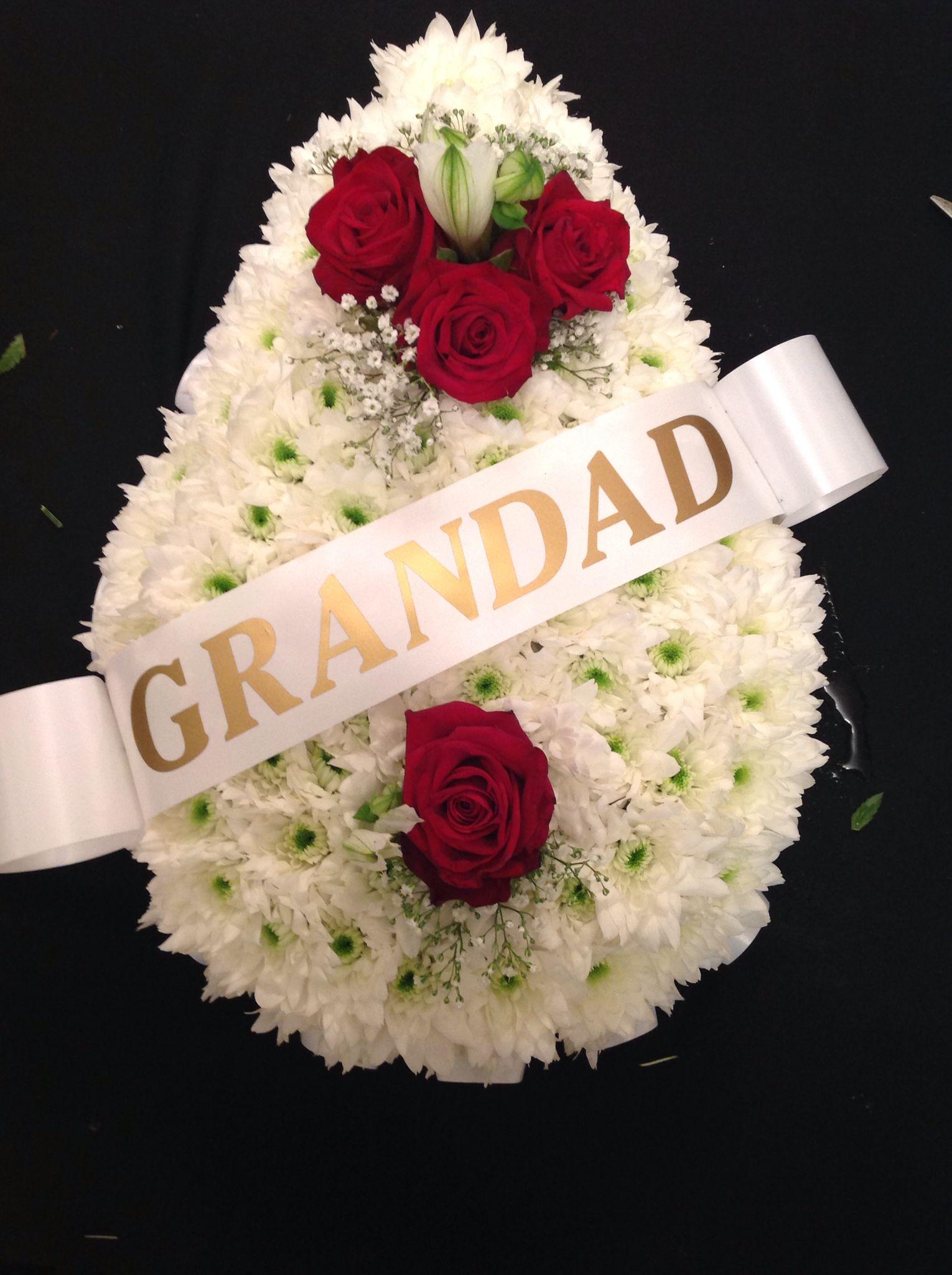 Funeral Teardrop Bluebells Snowbells Florists Pinterest