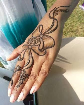 صور نقش حناء اماراتي صور نقش حناء ناعم نقش حناء اماراتي ناعم Mehndi Designs For Beginners Mehndi Designs Henna Designs Hand