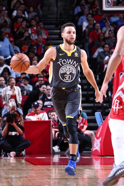 39931f32e Stephen Curry of the Golden State Warriors handles the ball against the Houston  Rockets on January 20 2018 at the Toyota Center in Houston Texas NOTE.