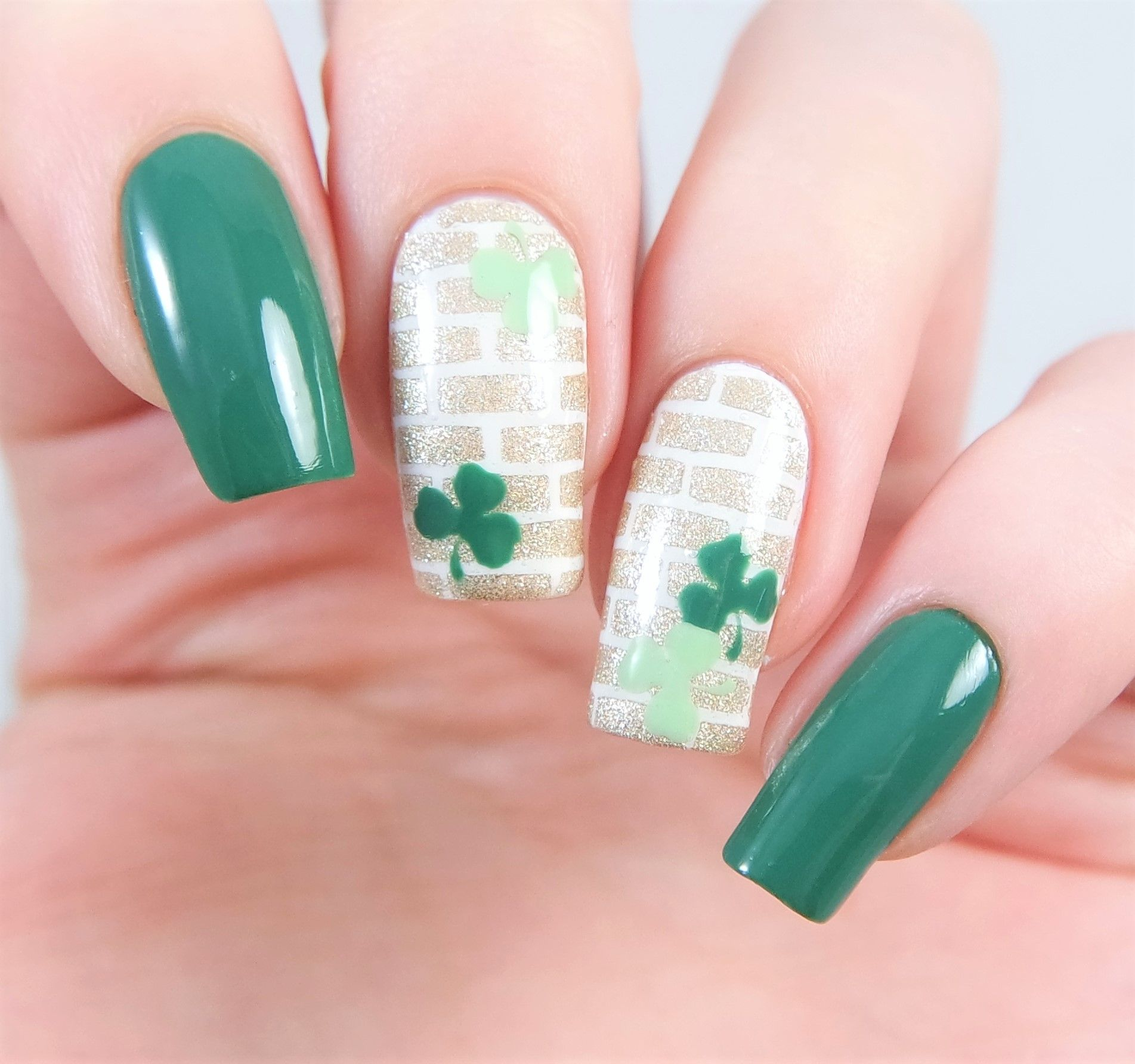 Clover Nail Decals | Nail stencils, Nail decals and Manicure