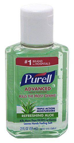 Purell Advanced Hand Sanitiser Jelly Wrap 30ml Sanitizer Hand