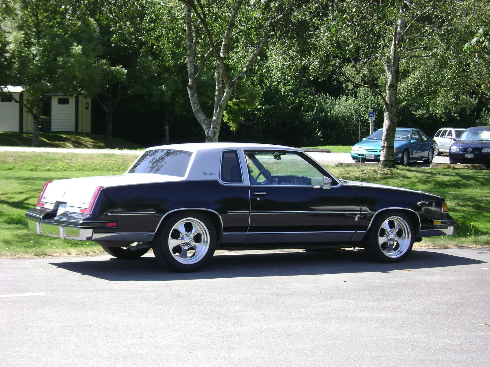 Make oldsmobile model cutlass year 1987 exterior color charcoal interior color gray doors two door vehicle condition good for more inf pinteres