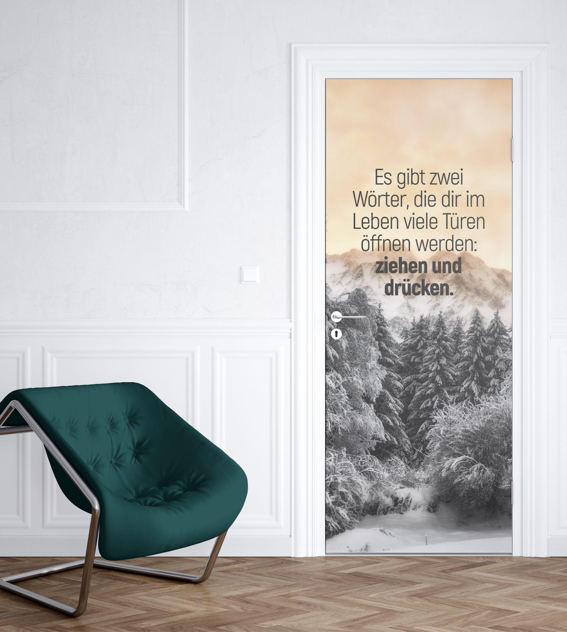 türaufkleber #deko #dekoration #tür #door #haus #ideen #dekoideen ...