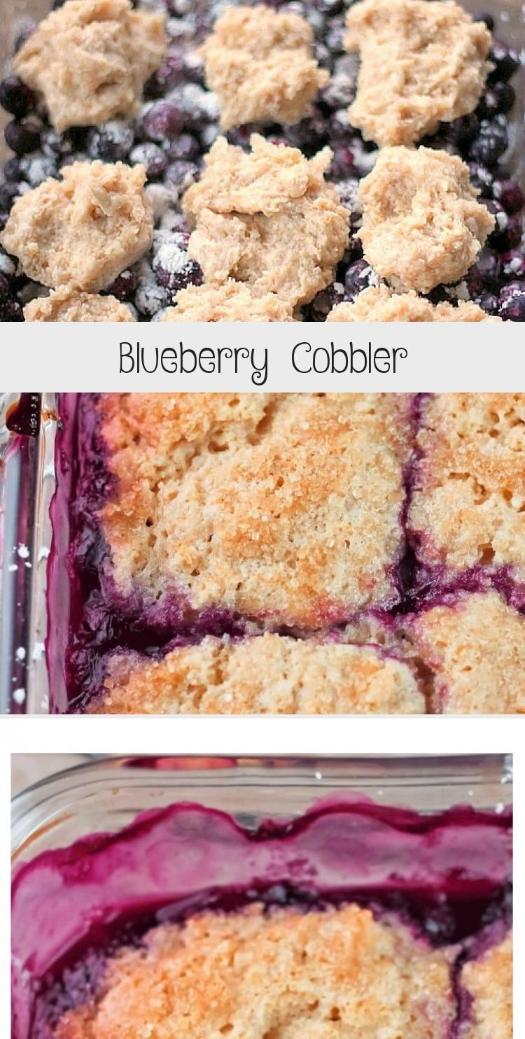 Photo of Blueberry Cobbler – Meat recipes
