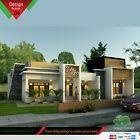 Details about Elegant single story Antebellum Plantation home architectural house plans