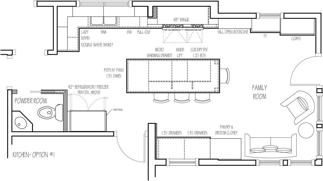 Floor Plan Option 1 The Sketch Designer Who Make Whole House