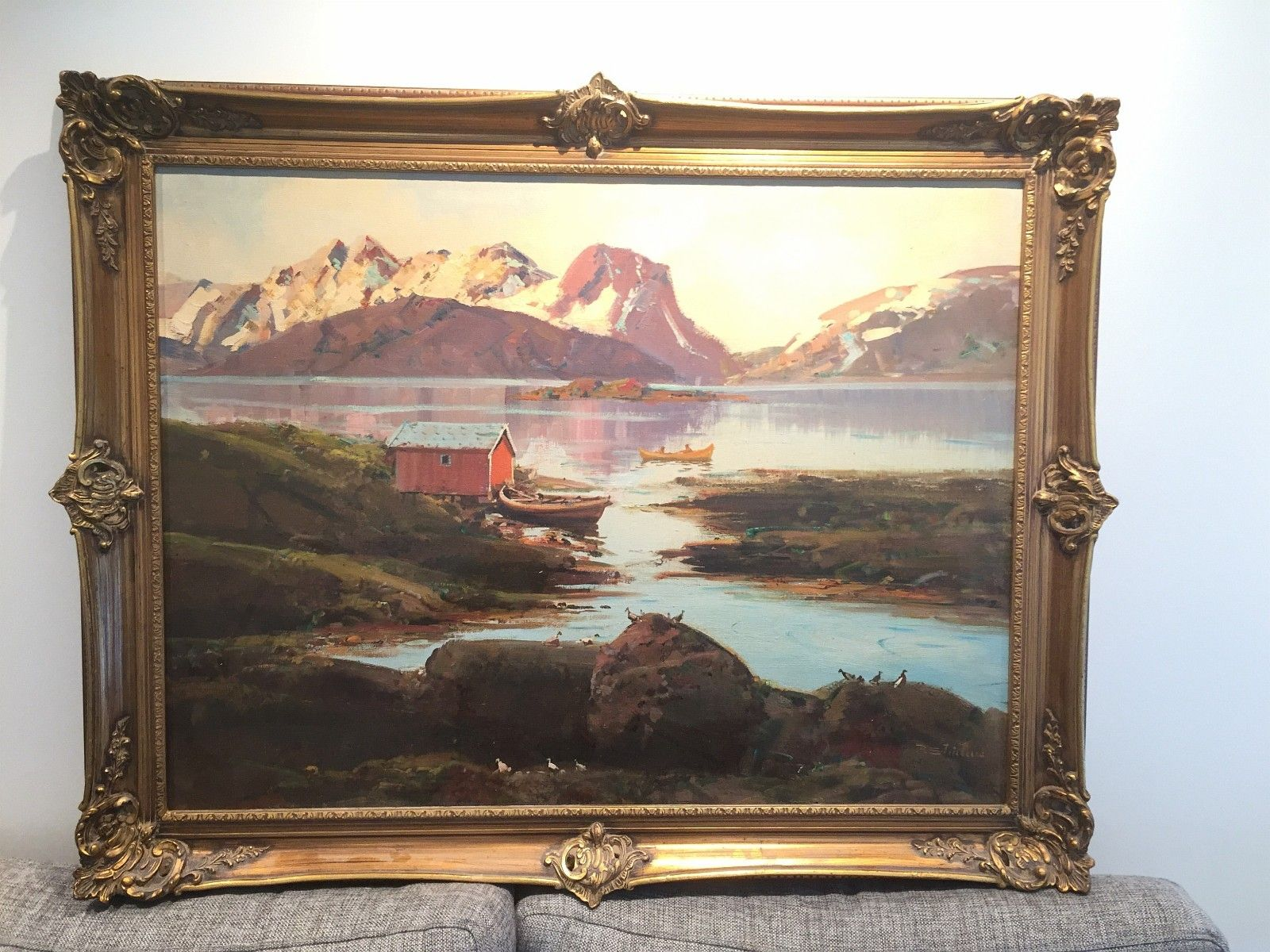 Pin Pa Reidar Steinnes Painter