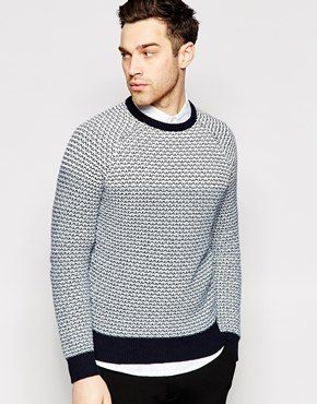 Jack /& Jones Hommes Tricot Pull O-neck Sweater Jumper Pull Casual Basic