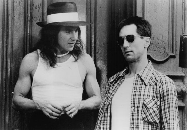 harvey keitel cuts a dapper figure with glamorous wife · critique taxi  driver 1976 filmosaure