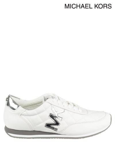 Michael Kors | Stanton Quilted Trainer | Sneakers | White | Style ... : michael kors quilted sneakers - Adamdwight.com
