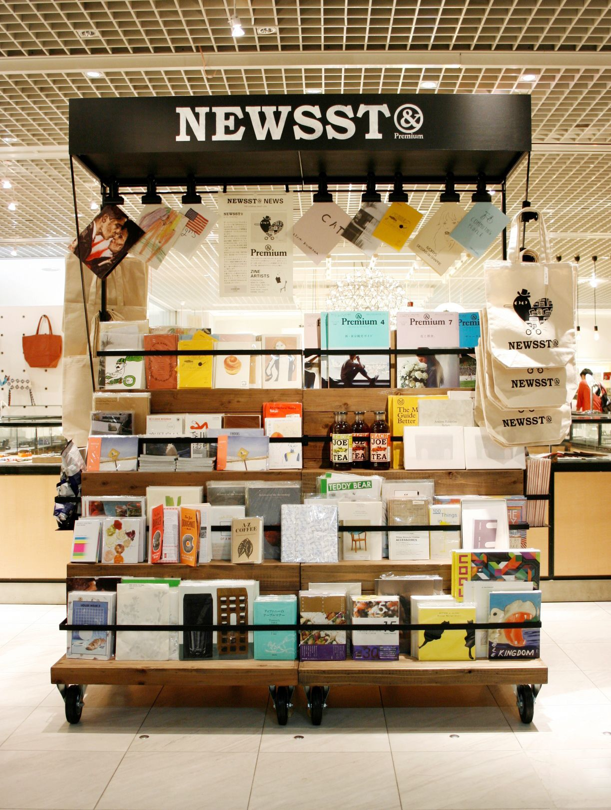 jagger associates services provided by interior designers NEWSSTu0026Premium at The Conran Shop Japan | 2014.7.17~
