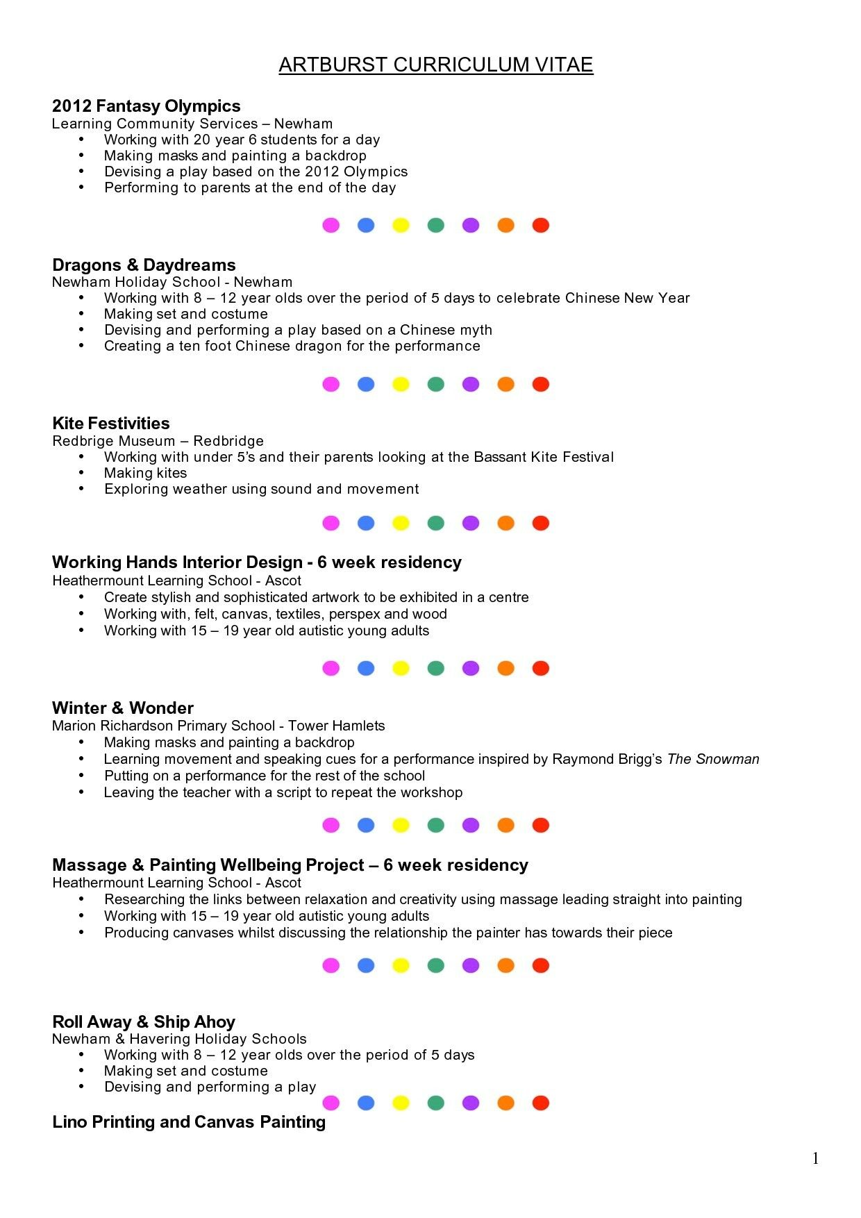 Year 6 Cv Template Resume Format Resume Template Examples Resume Examples Cv Template