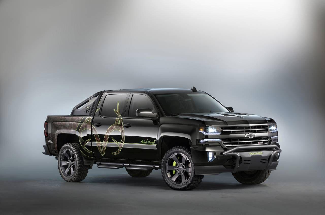 Truck chevy concept truck reaper : Chevrolet SIlverado custom pickup concept for SEMA 2015 (7)   cars ...