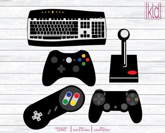 5 Controller Svg Game Controller Svg Video By Kellylollardesigns