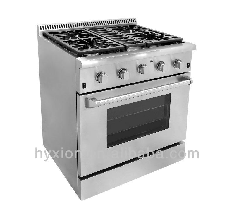 csa approved hrg3078u 30 inch oem electrolux gas range with grill top find complete details. Black Bedroom Furniture Sets. Home Design Ideas