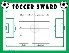 Image result for homemade soccer ball certificates therapeutic image result for homemade soccer ball certificates yadclub
